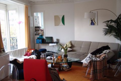 Home staging, avant - Achat vente appartement paris rive gauche